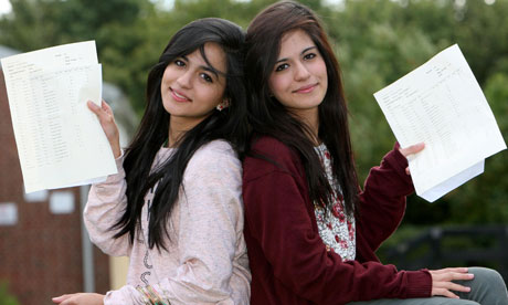 Twins gain identical GCSE results