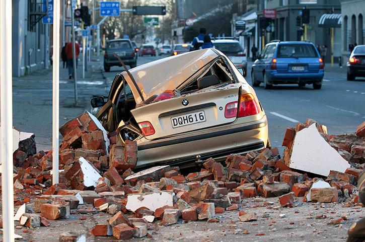 earthquake in new zealand christchurch. New Zealand Earthquake: New