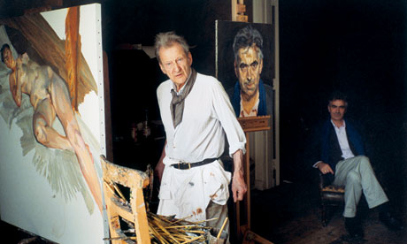 Lucian Freud with Martin Gayford