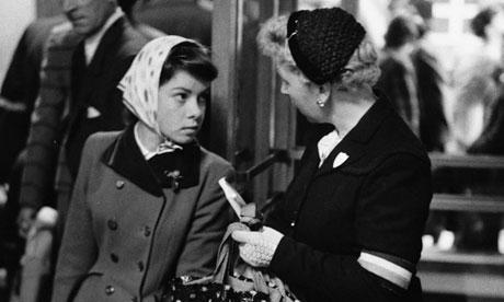 Irish Emigrant Arriving in England