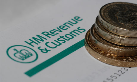 HM Revenue and Customs tax form