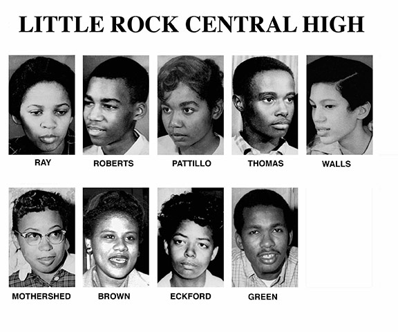 student essays on the little rock nine Sixty years after the little rock nine brought national attention to school  segregation, a new generation is advocating for every student's right to attend  diverse.