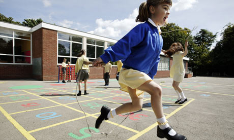 Health and safety concerns are restricting children's school playtime