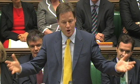 Nick Clegg at PMQs