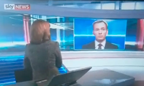 Chris Bryant and Kay Burley