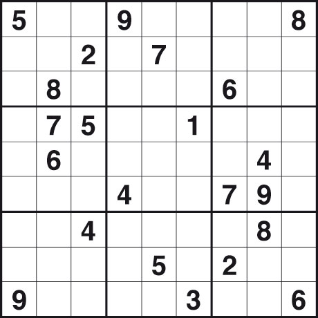 sudoku 210111 hard