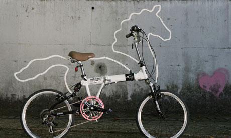 Horsey bicycle accessory - bike blog