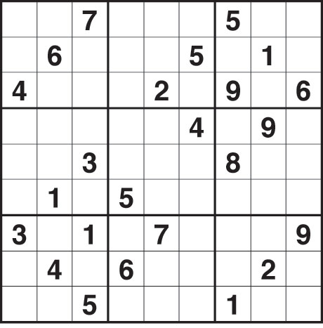 Sudoku 1,782 hard