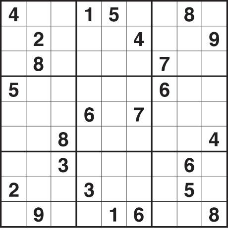 Sudoku 1,783 hard