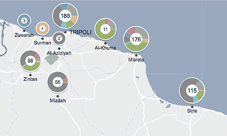 Nato attacks on Libya interactive