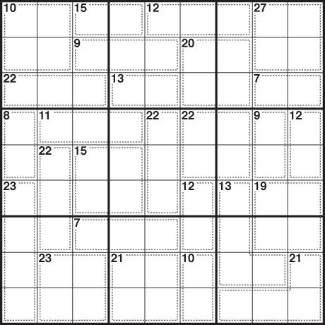 Sudoku 259 killer