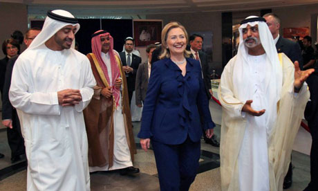 Hillary Clinton in UAE