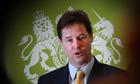 Deputy Prime Minster Nick Clegg