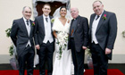 Michaela Harte, who has been killed in Mauritius, pictured on her wedding day