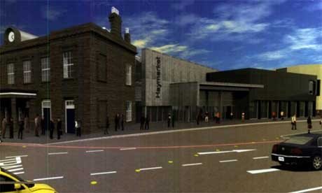 Plans for Haymarket Station in the west end of Edinburgh | pic: edinburgh.gov.uk