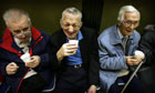 Pensioners In Scotland Take Part In A Local Tea Dance