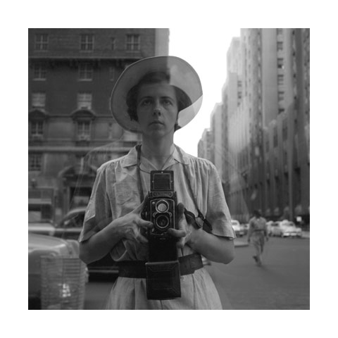 Vivian Maier: Self portrait