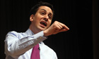 Ed Miliband Labour leader addresses Fabian Society
