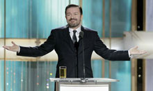 Ricky Gervais, Golden Globes