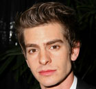 Andrew Garfield at the Golden Globes on 16 January 2011.