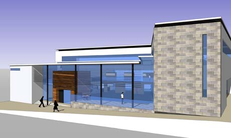 The new Drumbrae centre is due to open early in 2012