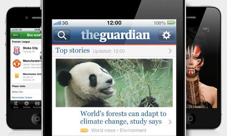 New Guardian iPhone app