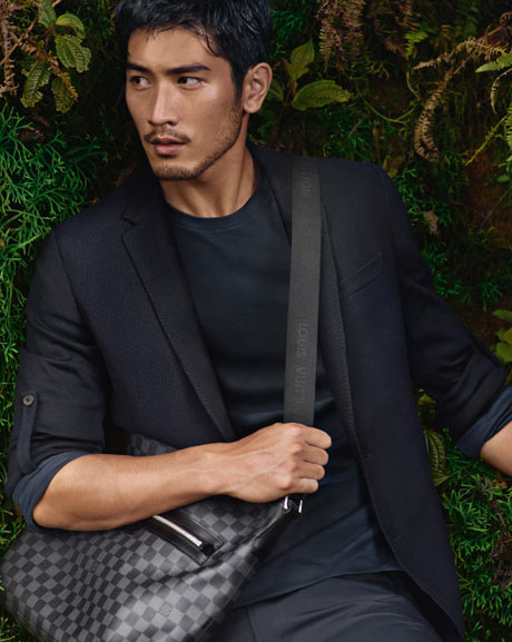 Godfrey Gao in the Louis Vuitton campaign. Photograph: Courtesy of