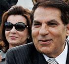 Zine al-Abidine Ben Ali and Leila Trabelsi
