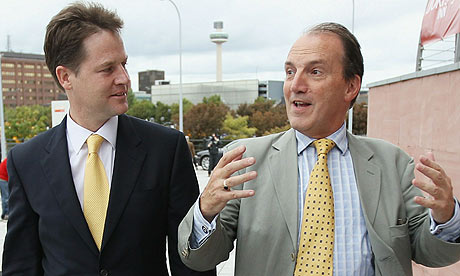 Nick Clegg and Simon Hughes