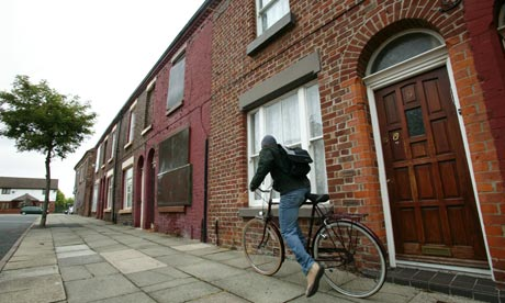 9 Madryn Street, the former home of Ringo Starr in Toxteth, Liverpool.