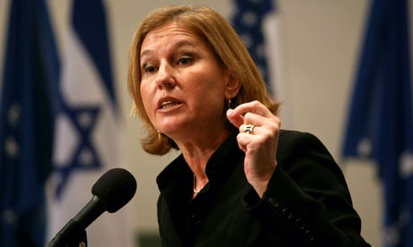 Tzipi Livni, lead Israeli negotiator in 2008