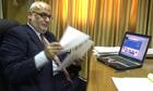 Senior Palestinian negotiator from 2008, Saeb Erekat