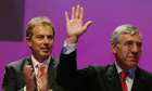 Tony Blair and Jack Straw in 2003, the year Britain and the US led the Iraq invasion