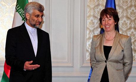 Saeed Jalili e Catherine Ashton