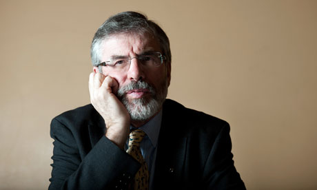 Gerry Adams.