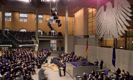 Inside the Bundestag