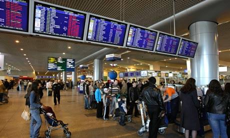 Domodedovo airport last year