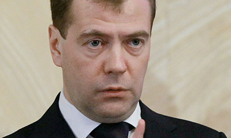 Russian president Dmitry Medvedev says heads will roll at security service in wake of airport blast