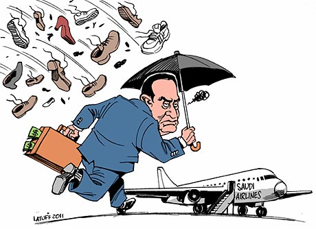Mubarak cartoon