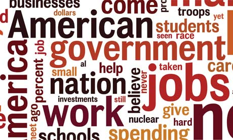 State of the union wordles