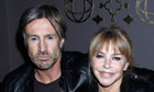 Lee Chapman and Leslie Ash