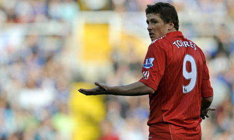 Liverpool's Spanish player Fernando Torres