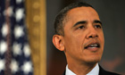 Barack Obama speaks on the present situation in Egypt