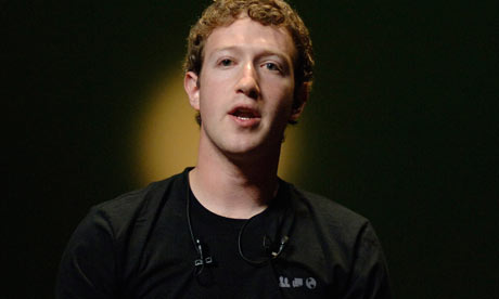 Facebook seminar with Mark Zuckerberg