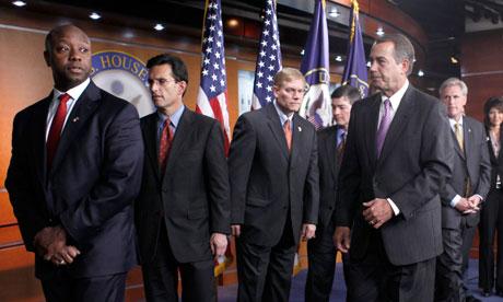 Republican and Democratic senators