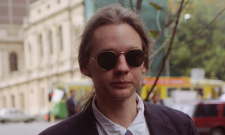 Julian Assange in 1995