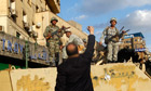 Egypt's army said it 'will not resort to use of force against our great people'