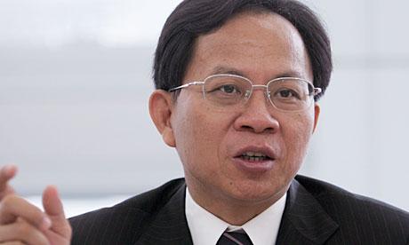 Qiu Xiaohua, former head of China's National Bureau of Statistics