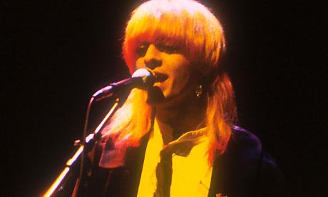 The Japan bassist Mick Karn performs in London in 1978