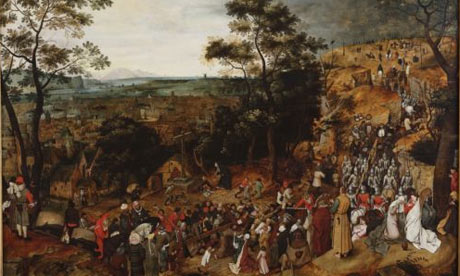 The Procession to Calvery by Brueghel the Younger